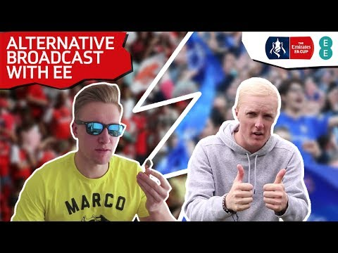 EMIRATES FA CUP FINAL ALTERNATIVE BROADCAST WITH EE FT. THEO BAKER & REEV #CUPSTORY