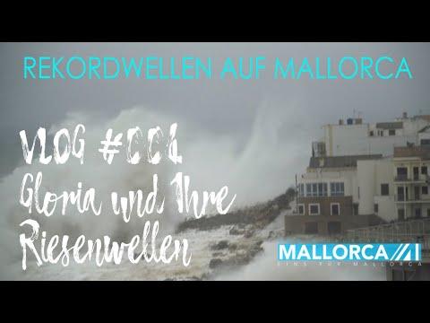 MallorcaEins.TV VLOG #004 Gloria und Ihre Riesenwellen