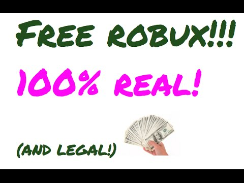 FREE Robux!!! FAST, LEGAL, AND SAFE! 100% WORKS!