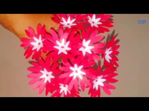 DIY flower craft | How to make Beautiful Flower with paper | paper flower