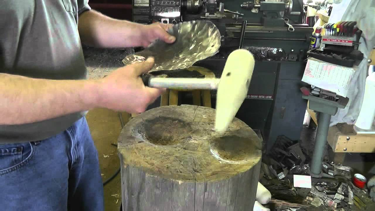 Metal Shaping Bat Hammer And A Stump Shrinking Fail