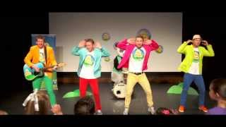 The BellyButton Song - Teaching about parts of the body - Rocking Children's Songs - The Mik Maks.