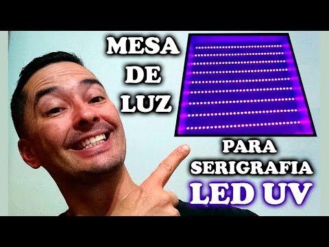 FAÇA VOCÊ MESMO SUA MESA DE LED UV PARA SERIGRAFIA