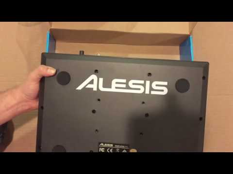 Alesis SamplePad Pro Unboxing from Musicians Friend