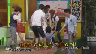 [100626] Jo Kwon and Lee Joon dance to Push Push
