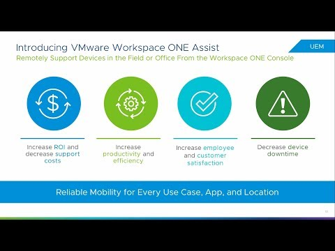 VMware Workspace ONE UEM™ Powered by AirWatch 1907 Release Notes