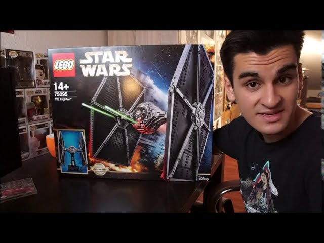 Unboxing des LEGO 75095 Star Wars UCS Tie Fighters