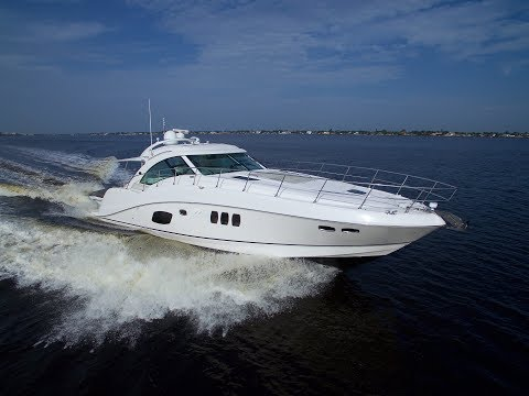 2010 Sea Ray 580 Sundancer Yacht For Sale at MarineMax Fort Myers