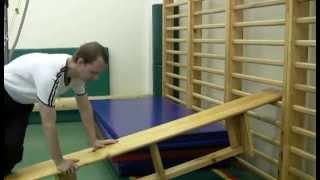 видео ГИМНАСТИЧЕСКИЕ УПРАЖНЕНИЯ НА УРОКАХ ФИЗКУЛЬТУРЫ - Упражнения для обучения упоров на уроках гимнастики