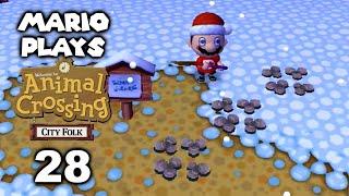 Mario Plays Animal Crossing: City Folk 28