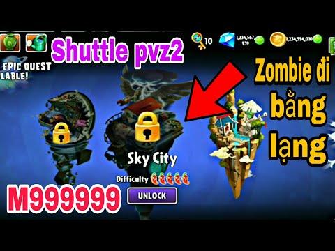 hack plants vs zombies 2 bằng lucky patcher - Plants vs Zombie 2 Shuttle Mastery 999999 in map Sky City #Plantsgamer#pvz2#Shuttle