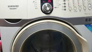 ASMR 세탁기 빨래하…