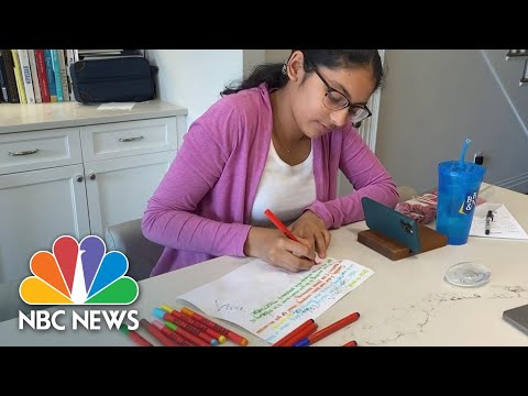 Powerful Letter Writing Campaign Sends Joy To Seniors Staying At Home | NBC Nightly News