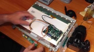 LCD/HDMI+AV+VGA+USB Denetleyici Sürücüsü Kurulu Diy Kit Ekran LED Panel