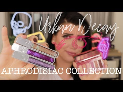 Urban Decay Aphrodisiac Review | FULL COLLECTION First Impression + Swatches