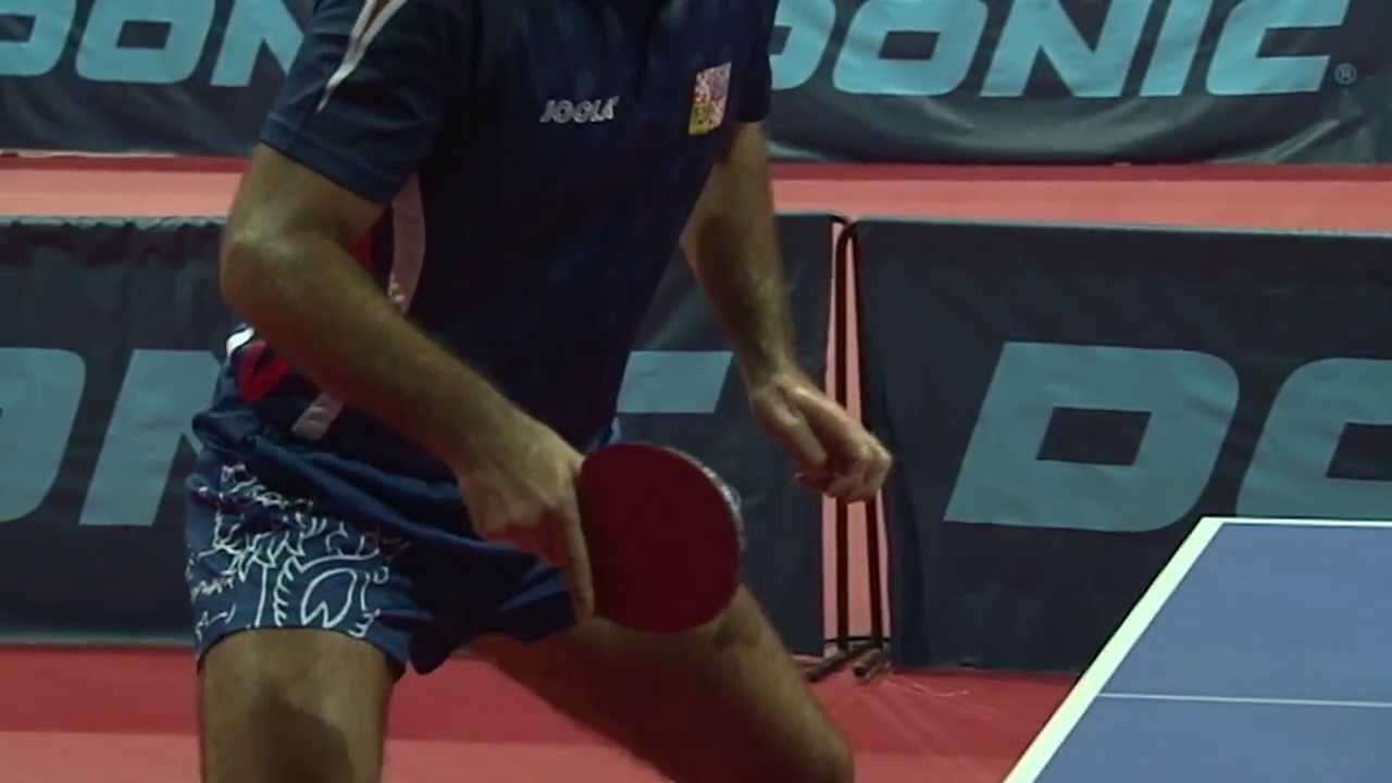 Short Cuts  Petr KORBEL (CZE) at LIEBHERR European Table Tennis  Championships - YouTube 30946dc4a097c