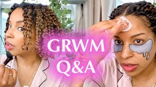 Get Ready With Me Q&A!! Life, Plants, & Hair!