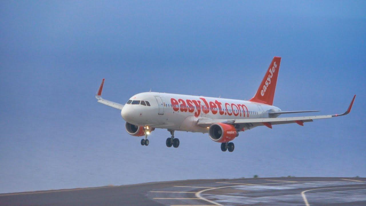 6 MORNING LANDINGS at Madeira Airport 01.07.2020