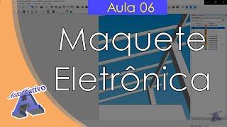 Curso de Maquete Eletrônica com SketchUp - Aula 06/50 Modelo do Telhado - Autocriativo