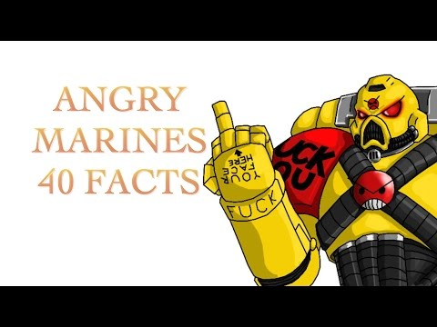 40 Facts and Lore about the Angry Marines Warhammer 40k