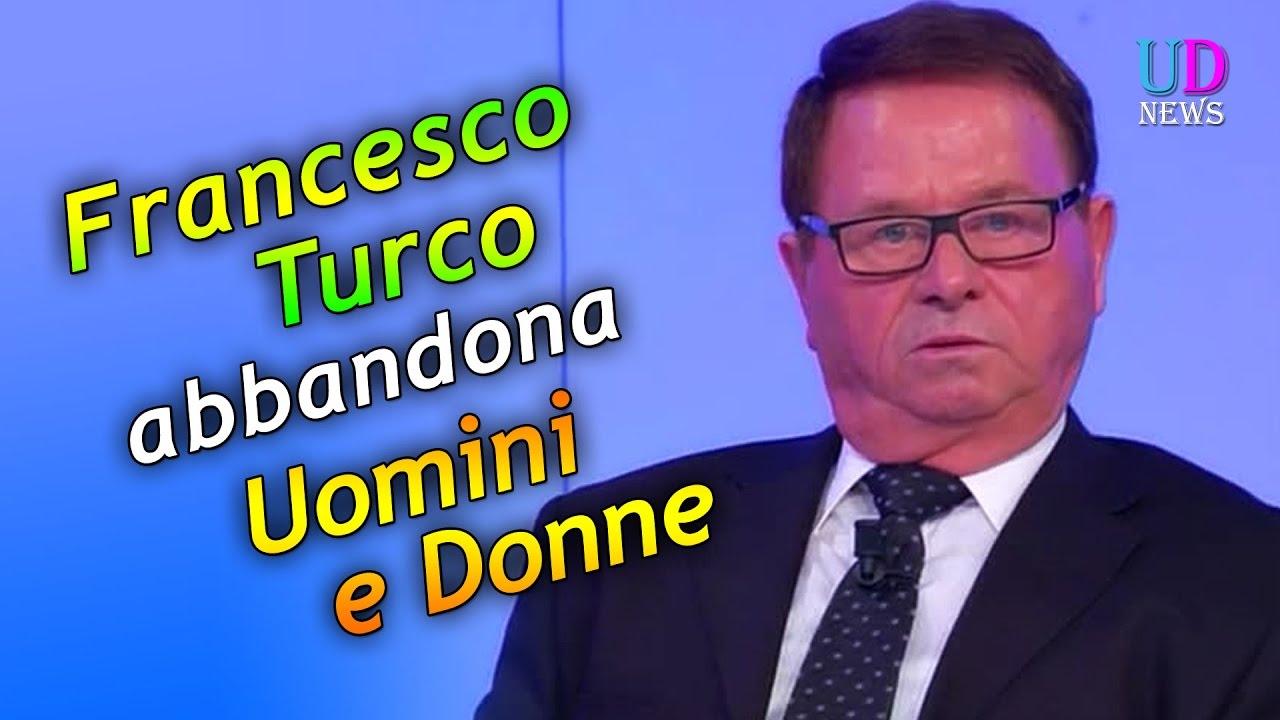 Uomini e Donne Francesco Turco abbandona il Trono Over  YouTube