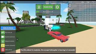 ROBLOX CAR CRUSHERS 2 ENERGY CORE EXPLOSION PART 2