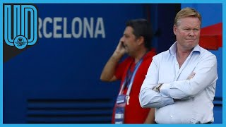 """Ronald Koeman aclara y pone más en entredicho a la presidencia culé. """"Yo no soy el malo de la película, la salida de Luis Suárez fue decisión del club"""""""