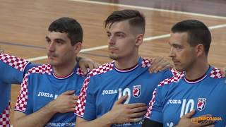 CROATIA X BRAZIL | SEMI-FINAL | MEN'S WORLD DEAF HANDBALL CHAMPIONSHIPS 2018