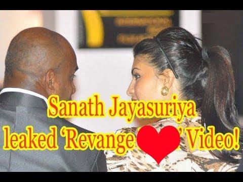 sanath jayasuriya leaked video of his ex gf | - youtube