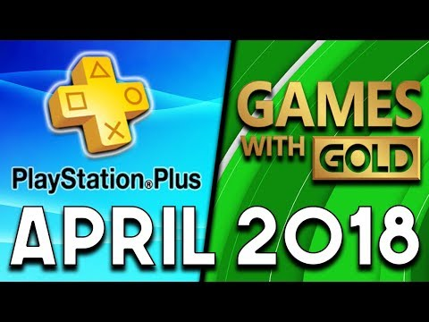 PlayStation Plus VS Xbox Games With Gold (APRIL 2018)