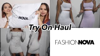 Fashion Nova Try on-Haul! Ngabisin Uang berjuta-juta!