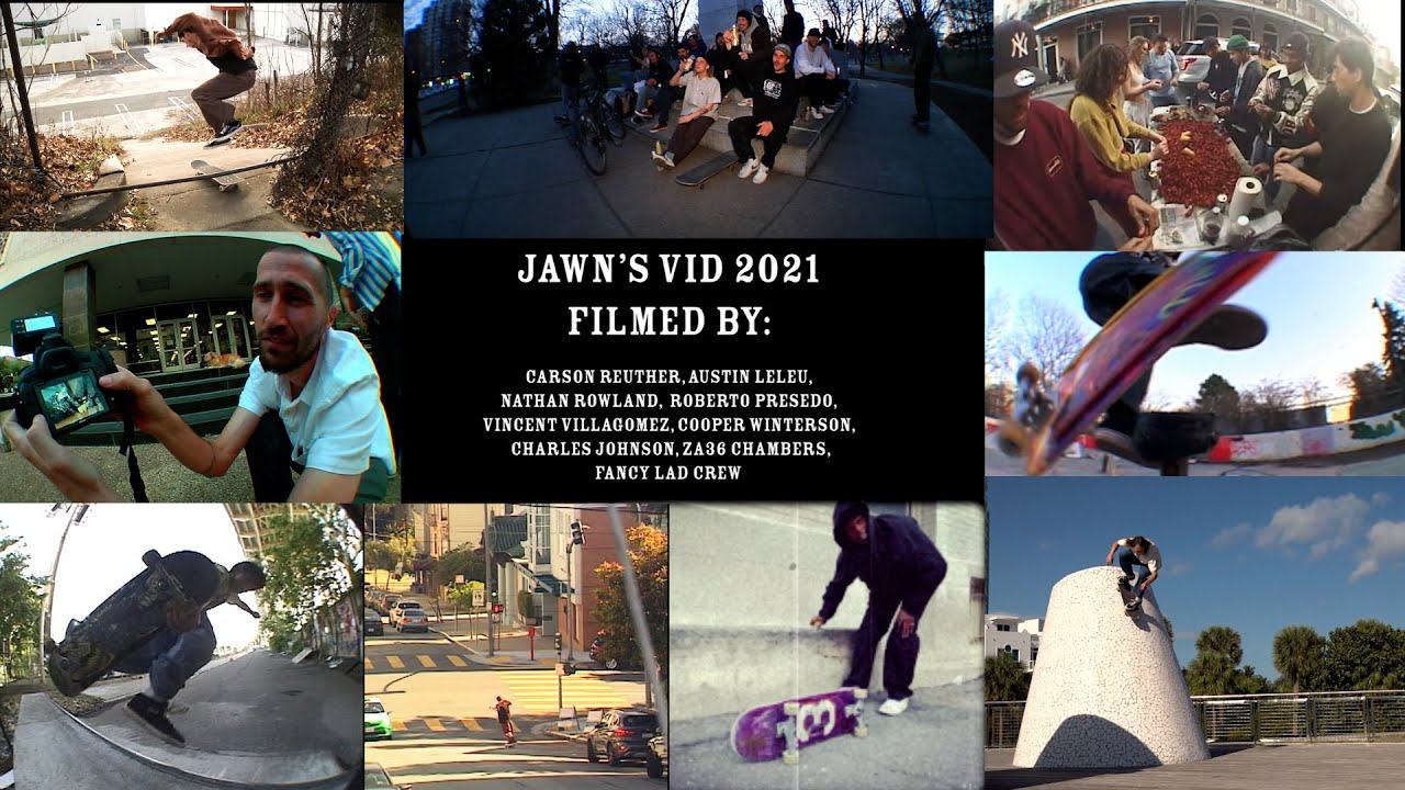 New SKATE JAWN Vid , Feat New Orleans