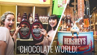 Hershey's Chocolate World - Sweetest Place On Earth!