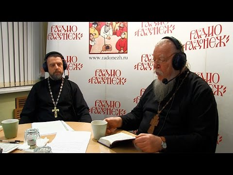 Радио «Радонеж». Протоиерей Димитрий Смирнов. Видеозапись прямого эфира от 2015.12.05