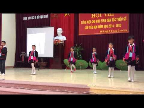 Màn chào hỏi giao lưu tiếng Việt của chúng em - tiểu học qu