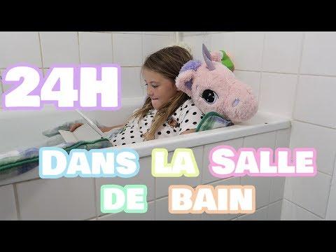 24H DANS LA SALLE DE BAIN || Lunah Lucornah
