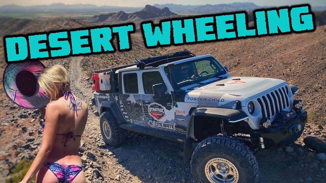 DESERT WHEELING A JEEP GLADIATOR - Arizona Peace Trail Day 6