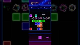 Glow Block Puzzle (Offline Mobile Game) screenshot 3