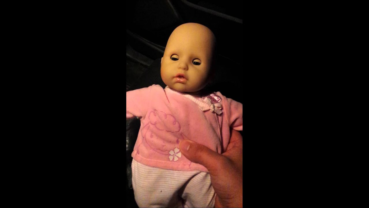 """Baby Annabell Doll says """"Help Me"""" - YouTube"""