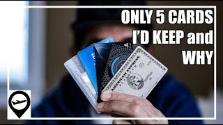 5 Best Travel Credit Cards - if I can only have 5 cards