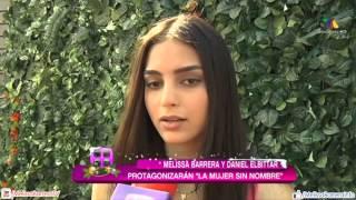 Melissa Barrera y Daniel Elbittar protagonistas de La Mujer Sin Nombre