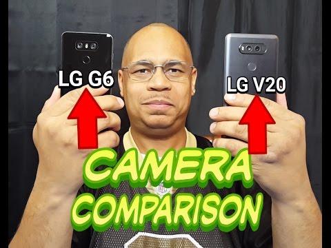 LG G6 Vs Lg V20 Camera Comparison 2017   Video Test   Photo Test