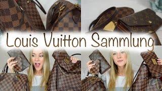 Meine LOUIS VUITTON SAMMLUNG | Speedy, Neverfull, Eva Pochette ..