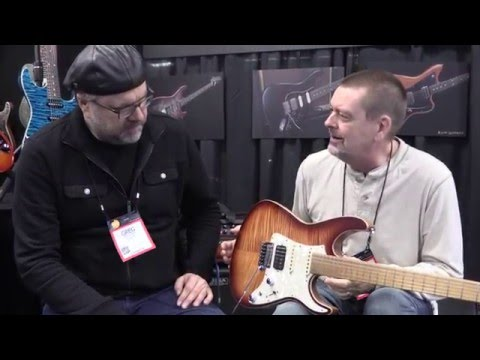 Interview with Tom Anderson of Tom Anderson Guitars  •  NAMM 2016