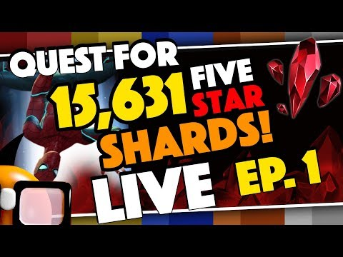 Quest for 15,631 Five Star Shards for Stark Spidey LIVE!
