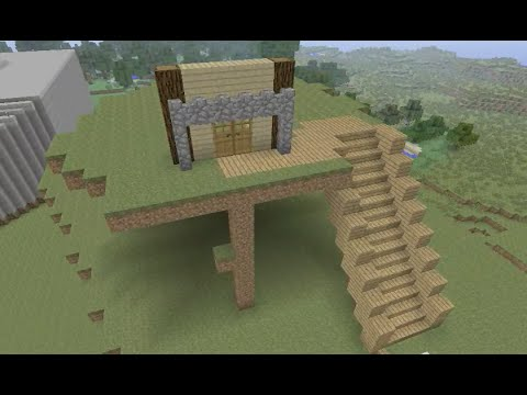 Building Stampy's Lovely World [9]  Harriot's Hill Part 1 of 7