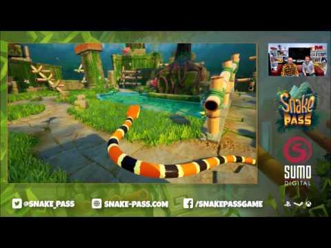 Snake Pass - Nintendo Switch gameplay