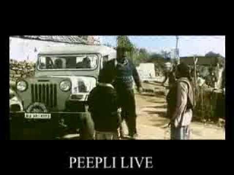 Datta Sonawane In Peepli Live movie.