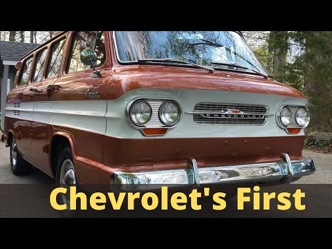 Fun, Fanciful And First - The Chevy Corvair Greenbrier