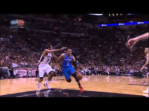 VIDEO: Russell Westbrook tries to destroy the rim